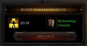 Diablo 3 Quest Experience