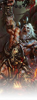 Diablo 3 Barbarian Image