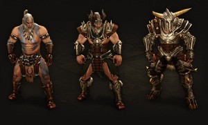 Barbarian Armor and Weapons
