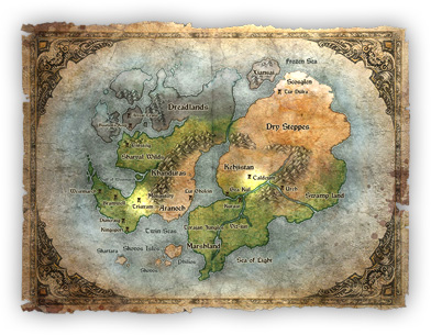 Diablo 3 World Map