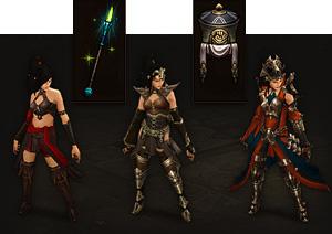Diablo 3 Wizard Gear