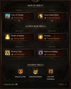 Inferno Codex Endgame Monk Build